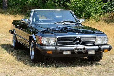 380 SL Convertible (W107)