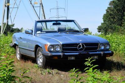 Mercedes-Benz 380 SL Convertible (W107)